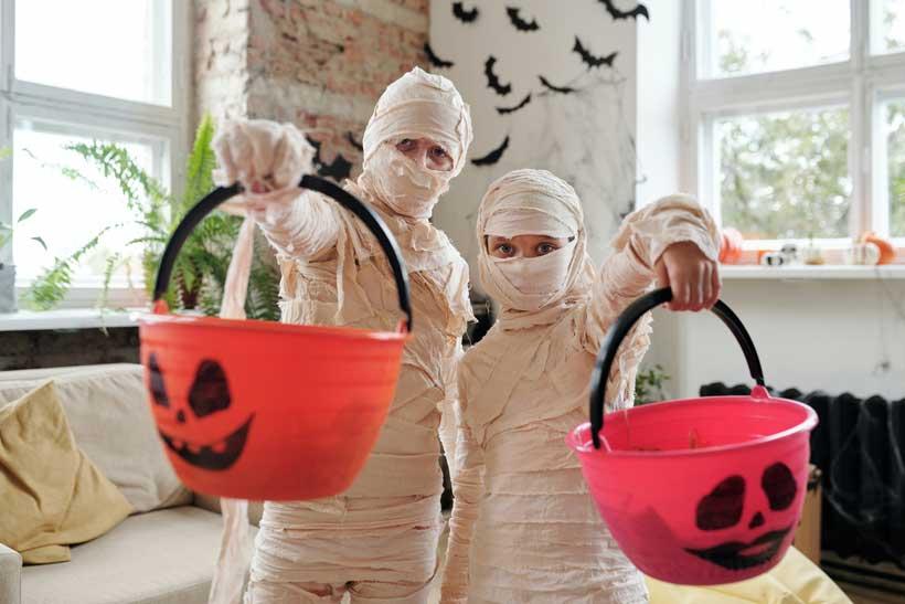 7 ideas para montar la fiesta de Halloween en casa y en familia