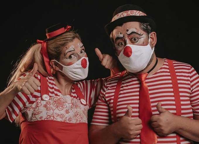 Espectáculo teatral con Pistacho y Cebolleta en la Sala Negra