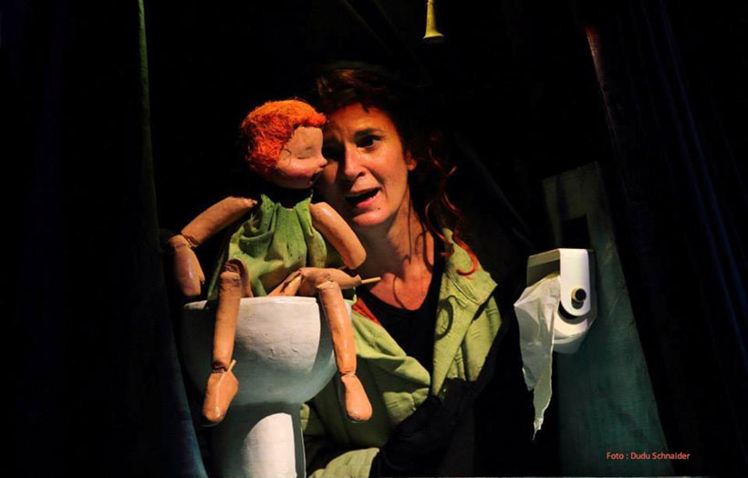 La obra de títeres 'El gran traje' despide el festival Teatrea Otoño