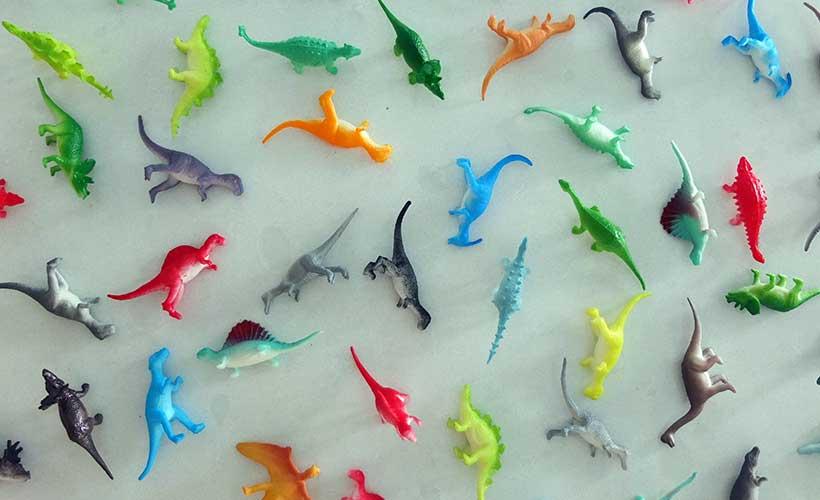 En la ludoteca navideña de Art&Ñam asómate al mundo de los dinosaurios
