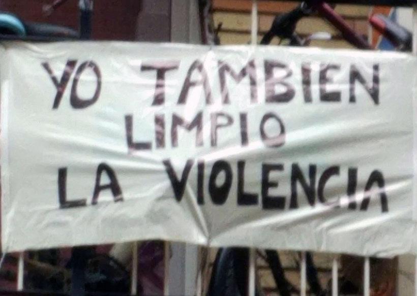 Grítalo desde tus ventanas: #yotambiénlimpiolaviolencia