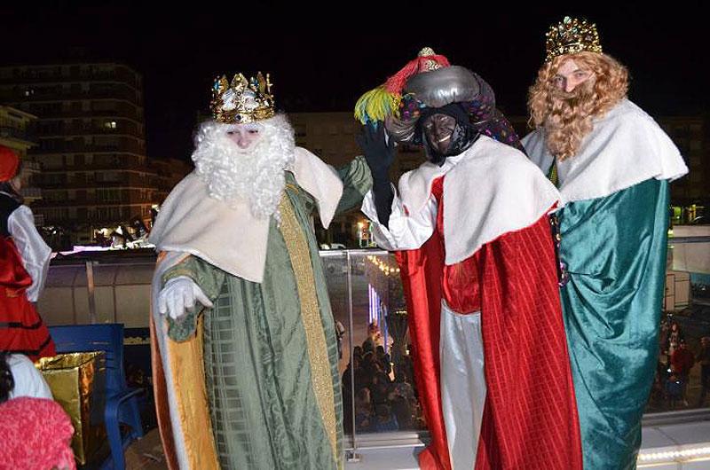 Los Reyes Magos y Papá Noel pasearán en descapotable por Calahorra