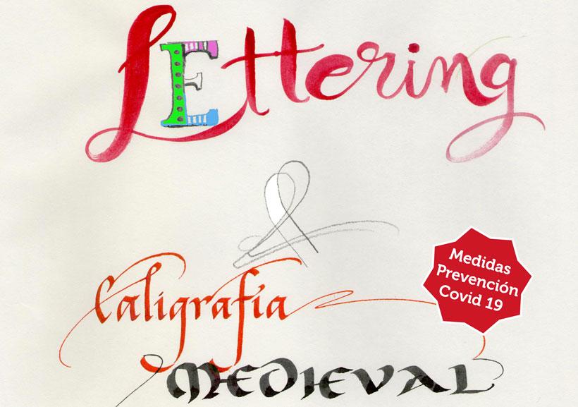"""Profundiza en el """"lettering"""" y la caligrafía medieval en este curso con Valle Camacho"""