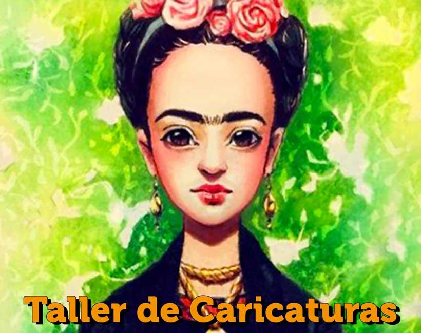 Taller de caricaturas con Valle Camacho