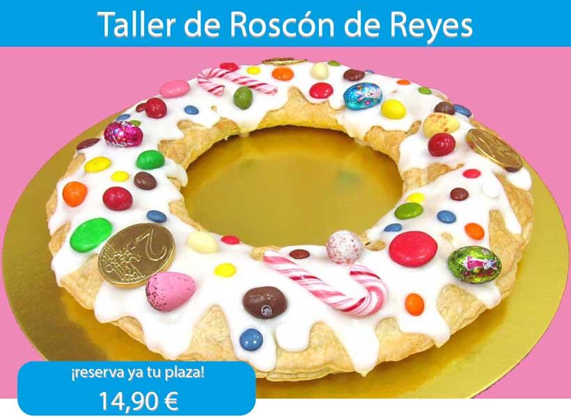 Taller de roscón de Reyes en Prin&Pi