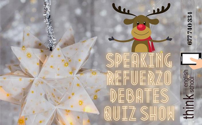 Ludoteca navideña en inglés en la academia Think