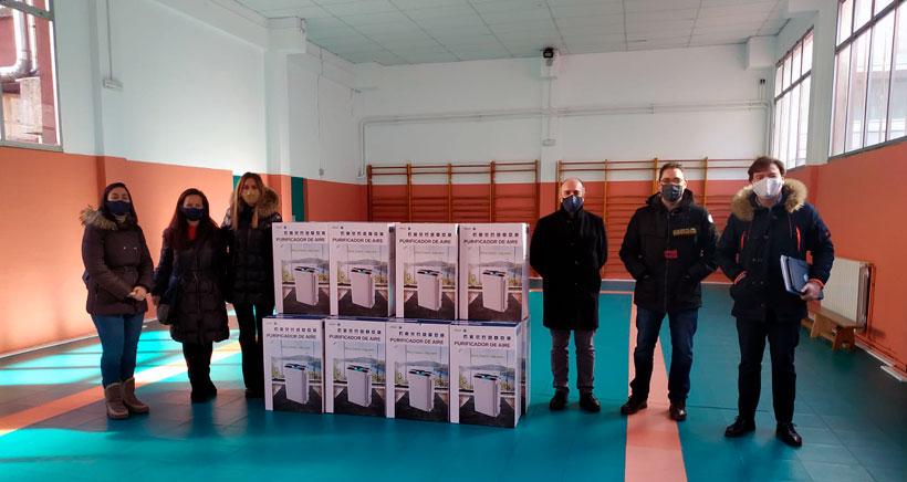 Agustinas instala 36 purificadores de aire en sus aulas para hacer frente a la COVID-19