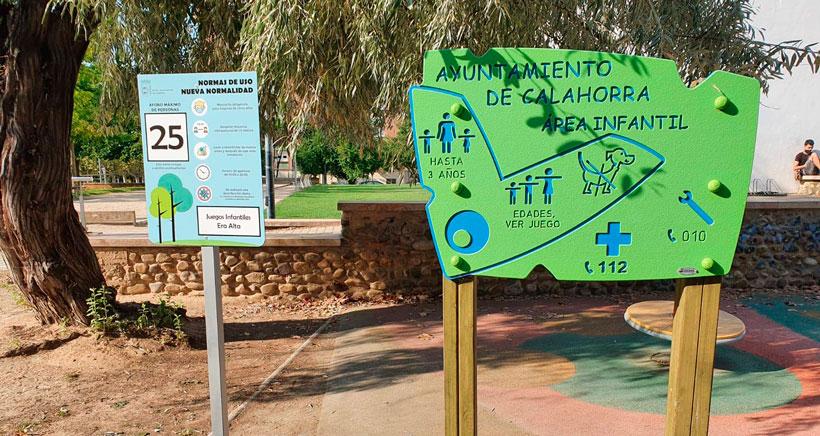 Calahorra cierra parques infantiles, servicios culturales e instalaciones deportivas