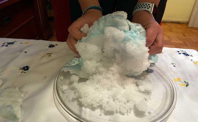 experimento-nieve-con-panales3