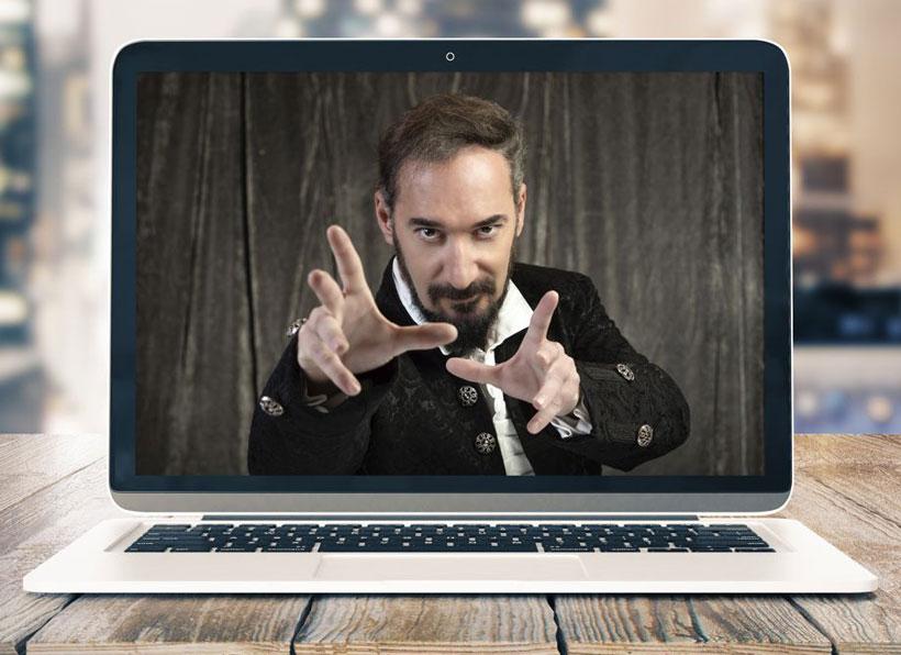 """""""Pedro III El Ilusionista"""" te invita a su show de magia online y gratuito"""