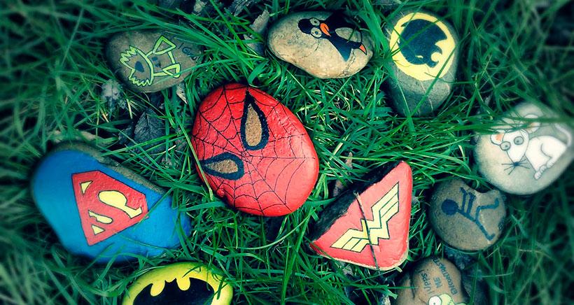 El emocionante juego de las piedras decoradas aterriza en Logroño