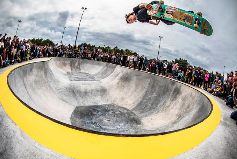 Logroño Deporte valora la creación de una Escuela Municipal de Skate