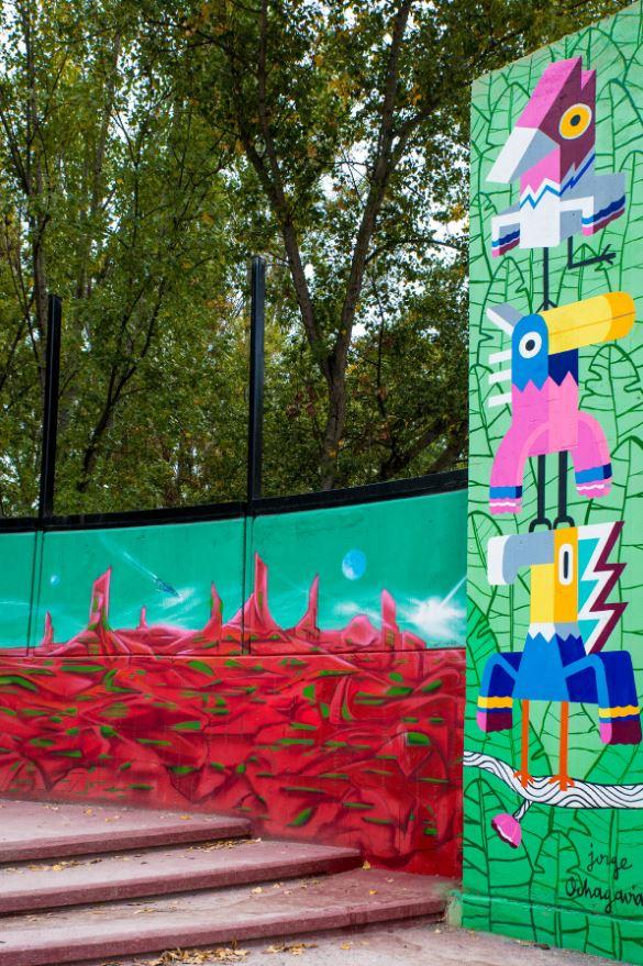 mural fertival de arte urbano