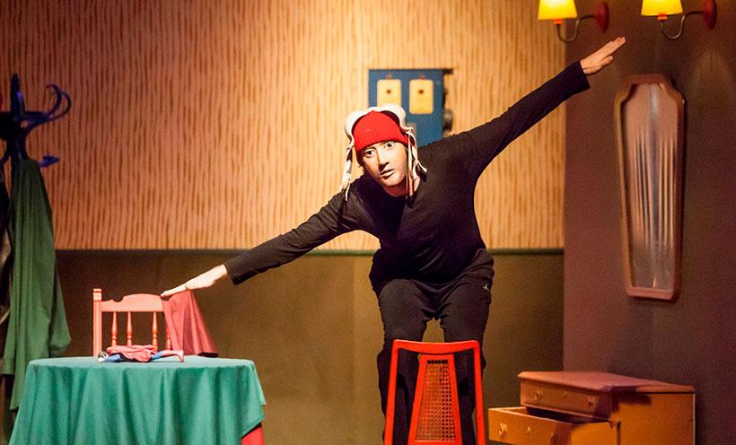 'Superhéroe', de El Perro Azul Teatro, este jueves en tu casa