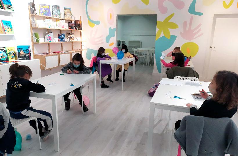 """Talleres creativos en """"Arte a la carta"""", un nuevo espacio para la enseñanza artística en Logroño"""