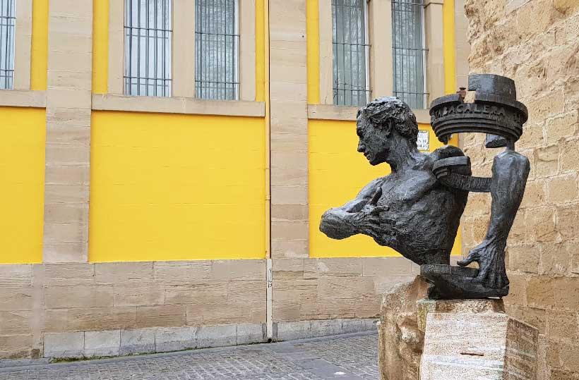 """La calle es un museo (5ª parada): """"Hombre histórico"""""""