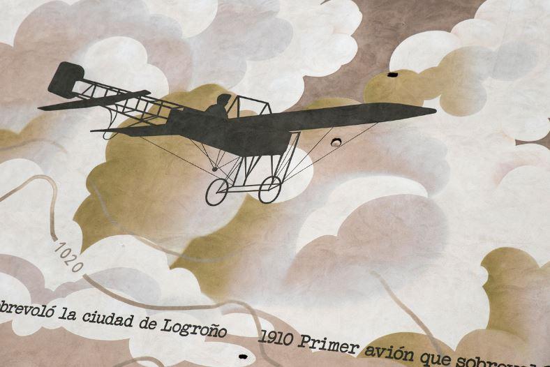 Primer vuelo sobre Logroño 3