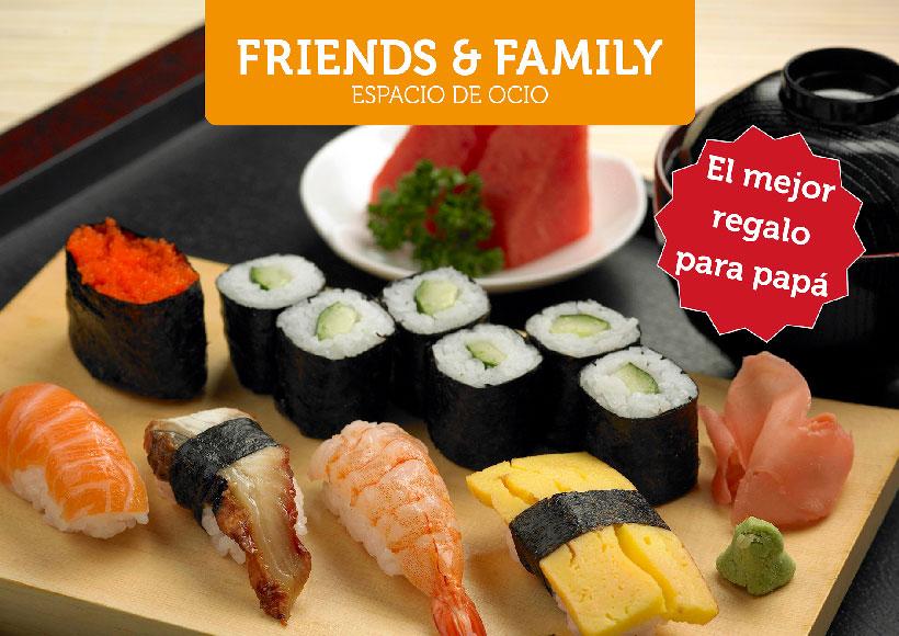 Taller de cocina japonesa para compartir con papá