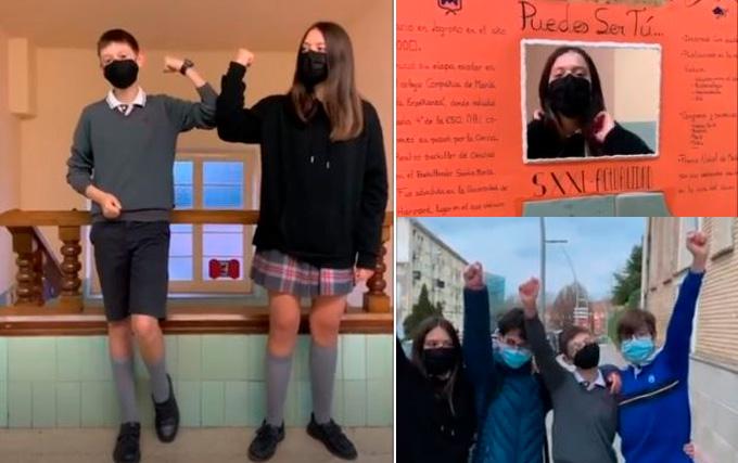 Igualdad de género, así la ven y transmiten en TikTok los adolescentes de Logroño