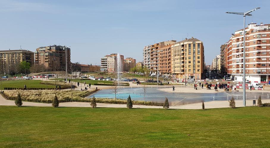 Un nuevo parque para Logroño: Felipe VI