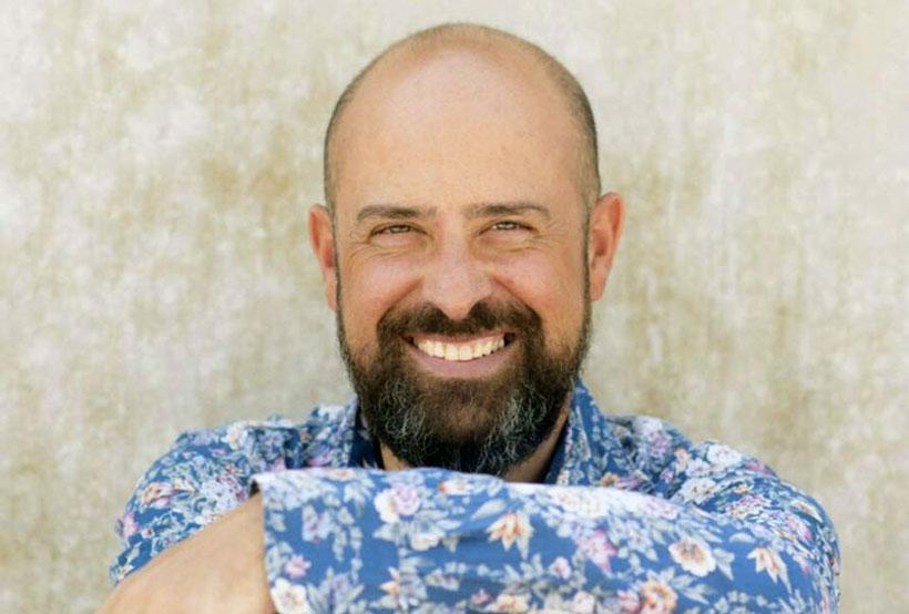 Ritxar Bacete y su nuevo libro 'Papá', en Santos Ochoa