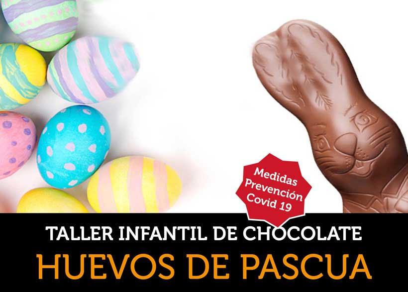 Taller de huevos de Pascua con el experto chocolatero Juan Ángel Rodrigálvarez