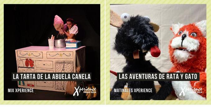 Teatro y cuentos en Xperience Parque Rioja