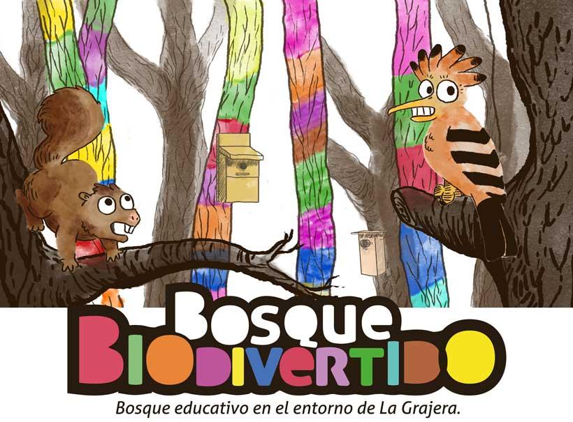 """Asómate al primer """"bosque biodivertido"""" de La Rioja"""
