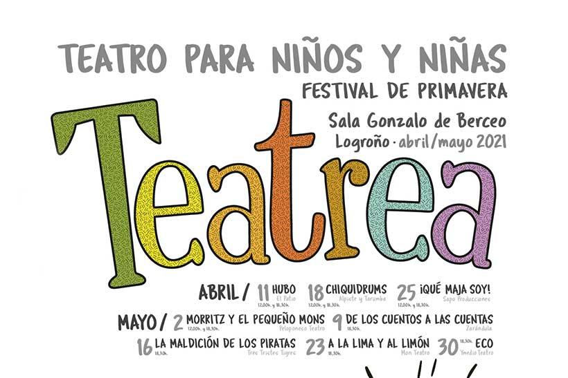 Comienza el Festival Teatrea Primavera 2021 (programación completa)