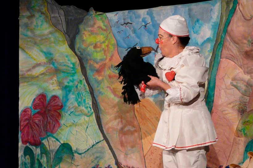 """""""De todo corazón"""", teatro para la primera infancia en la Sala Negra"""