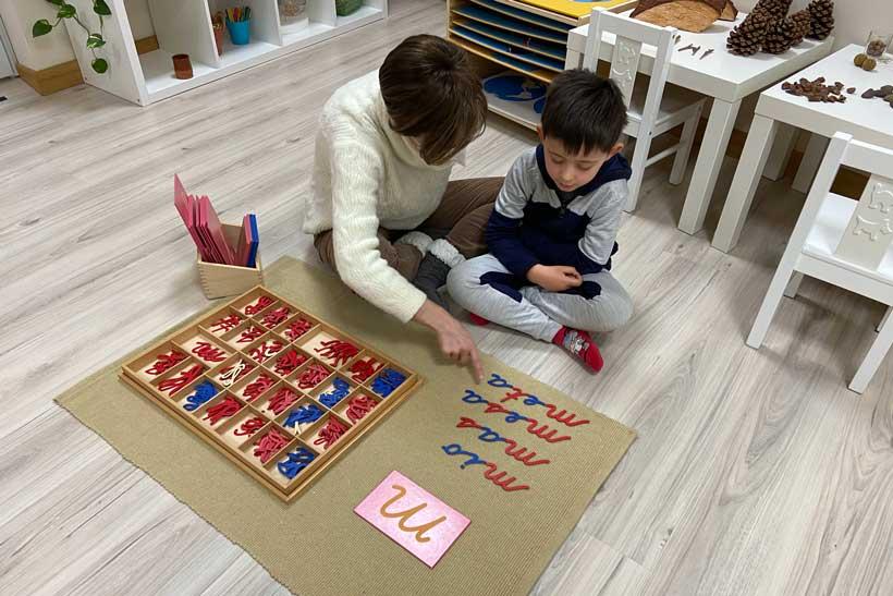 Cuarto Creciente Montessori School: atención personal y ratios 1/10