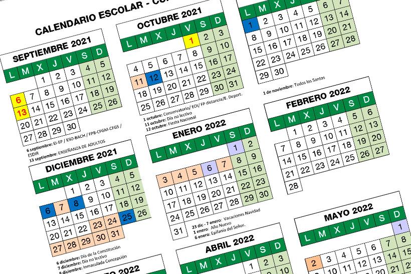 Festivos escolares del próximo curso: calendario escolar 2021-2022 en La Rioja