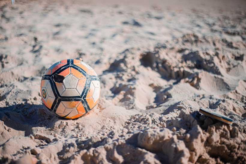 Deporte de playa sin salir de Logroño