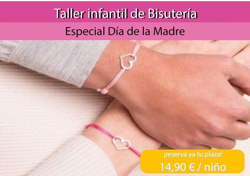 Taller de bisutería infantil para el Día de la Madre