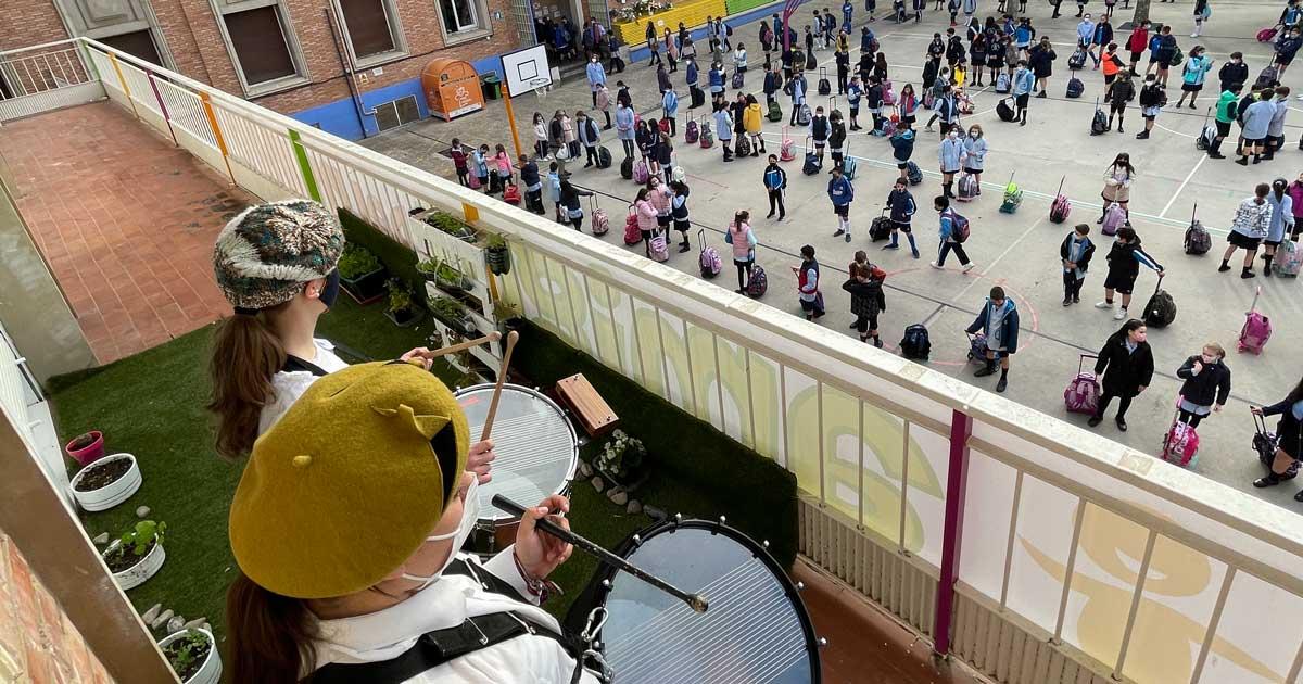 El V Centenario de Logroño llega a Escolapias Sotillo