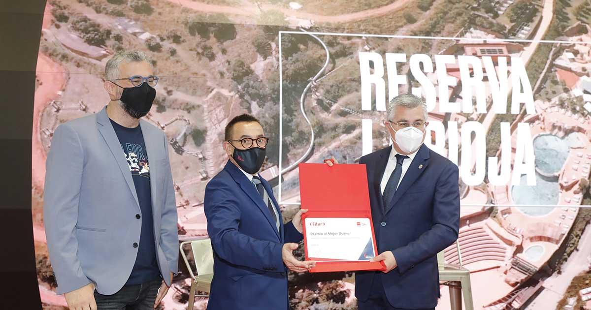La Rioja gana el premio al Mejor Stand en FITUR 2021