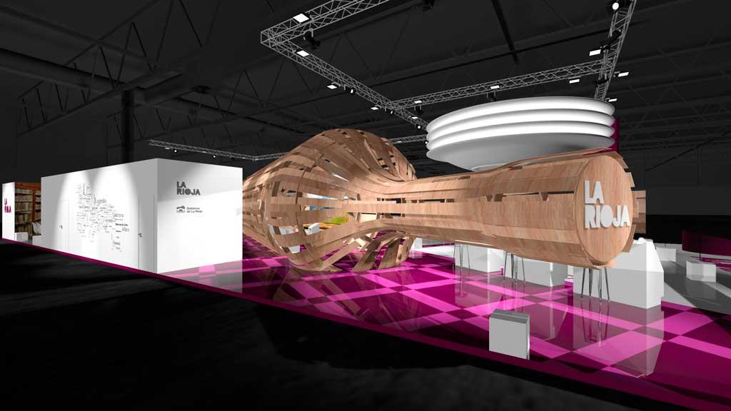El nuevo stand de La Rioja en FITUR más digital para alcanzar a visitantes de todo el mundo