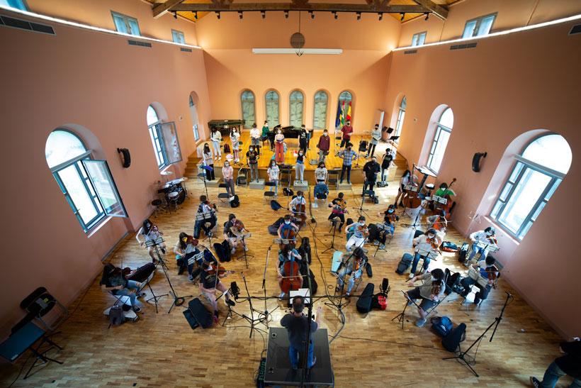 El Conservatorio graba un disco para celebrar su medio siglo de vida