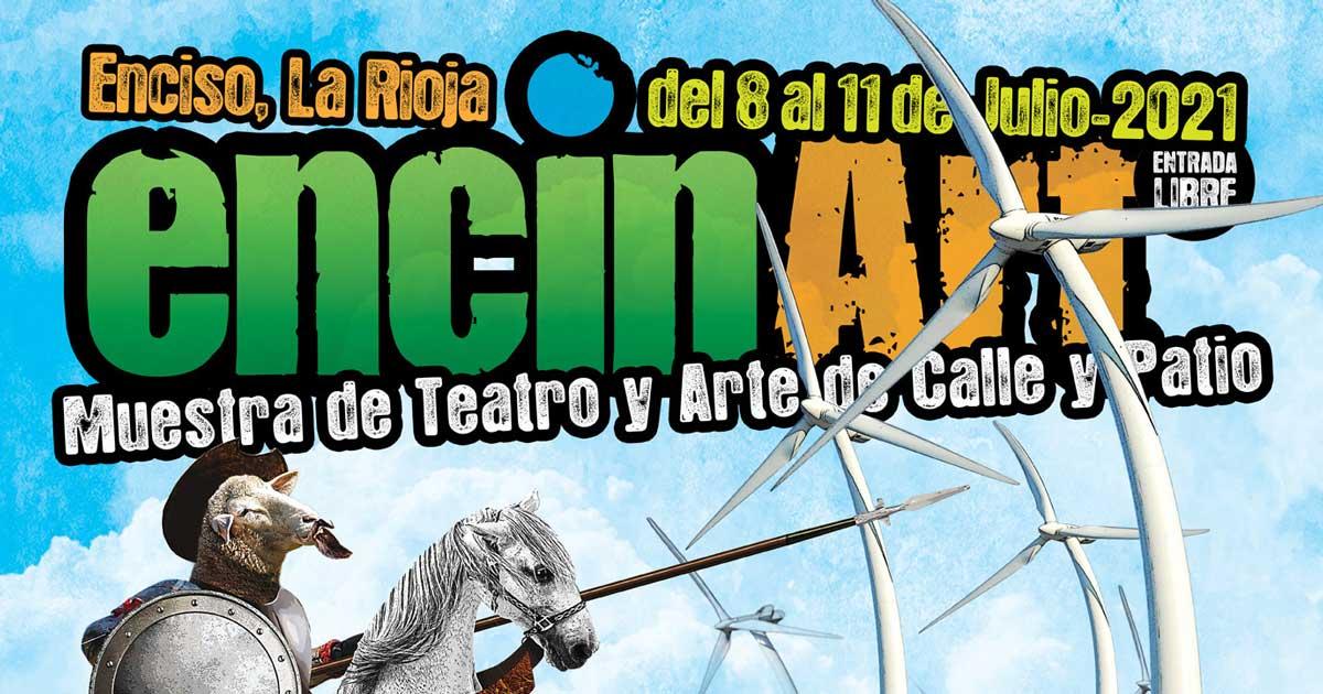 Teatro y arte en las calles de Enciso: vuelve Encinart