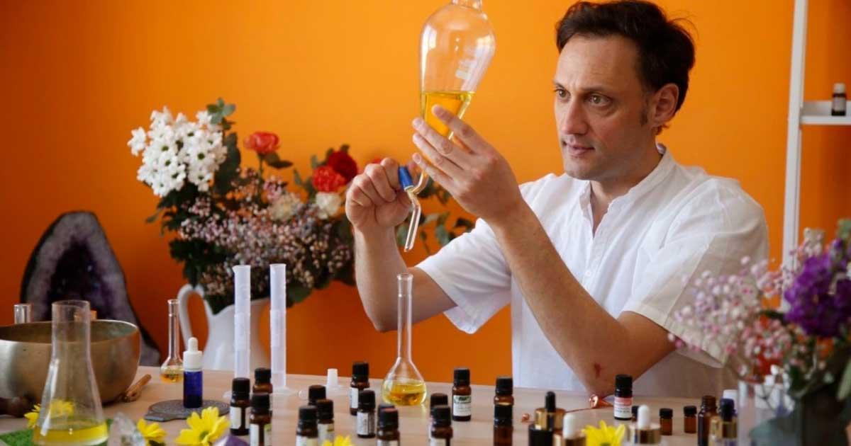 Taller de aromaterapia en la Pajarera del Parque del Carmen