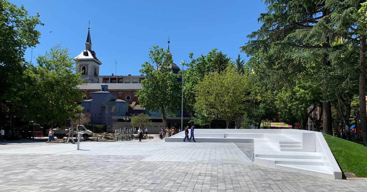 El Parque Gallarza estrena su nuevo espacio polivalente