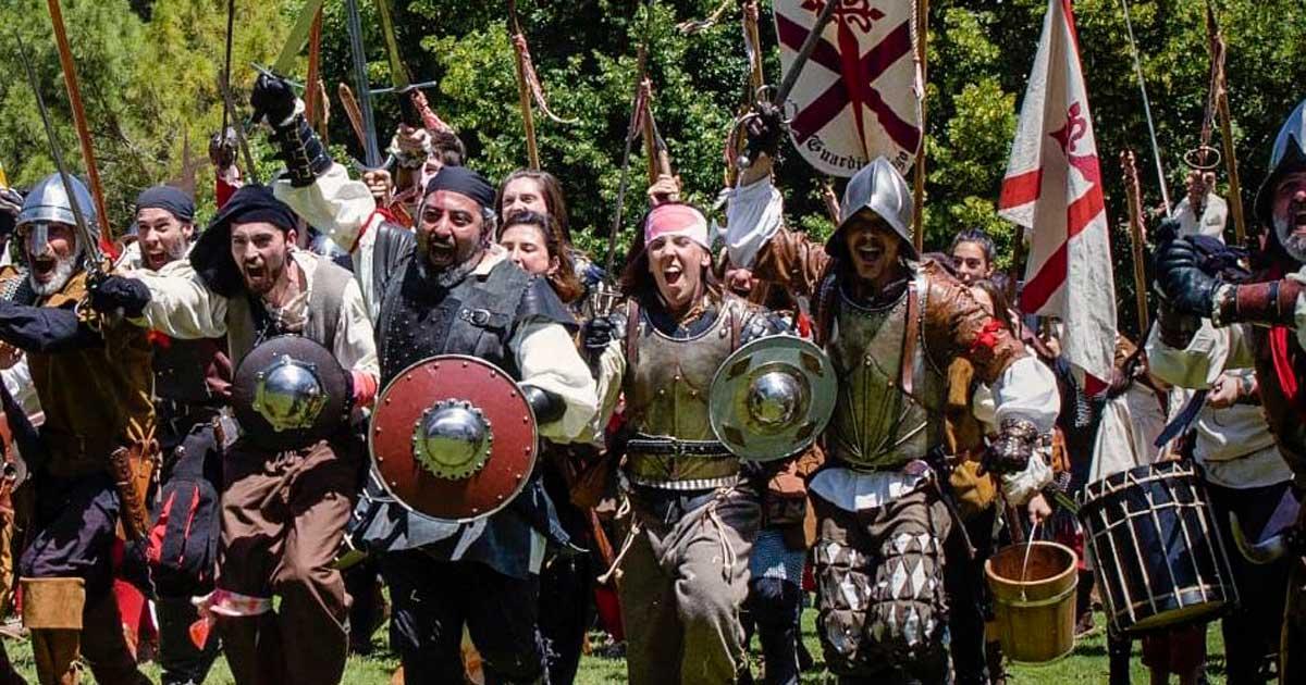 Guardias de Santiago pone en escena los momentos cruciales del Sitio de Logroño