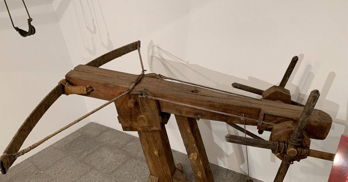 """""""Máquinas de asedio"""", nueva exposición en la Casa de las Ciencias"""