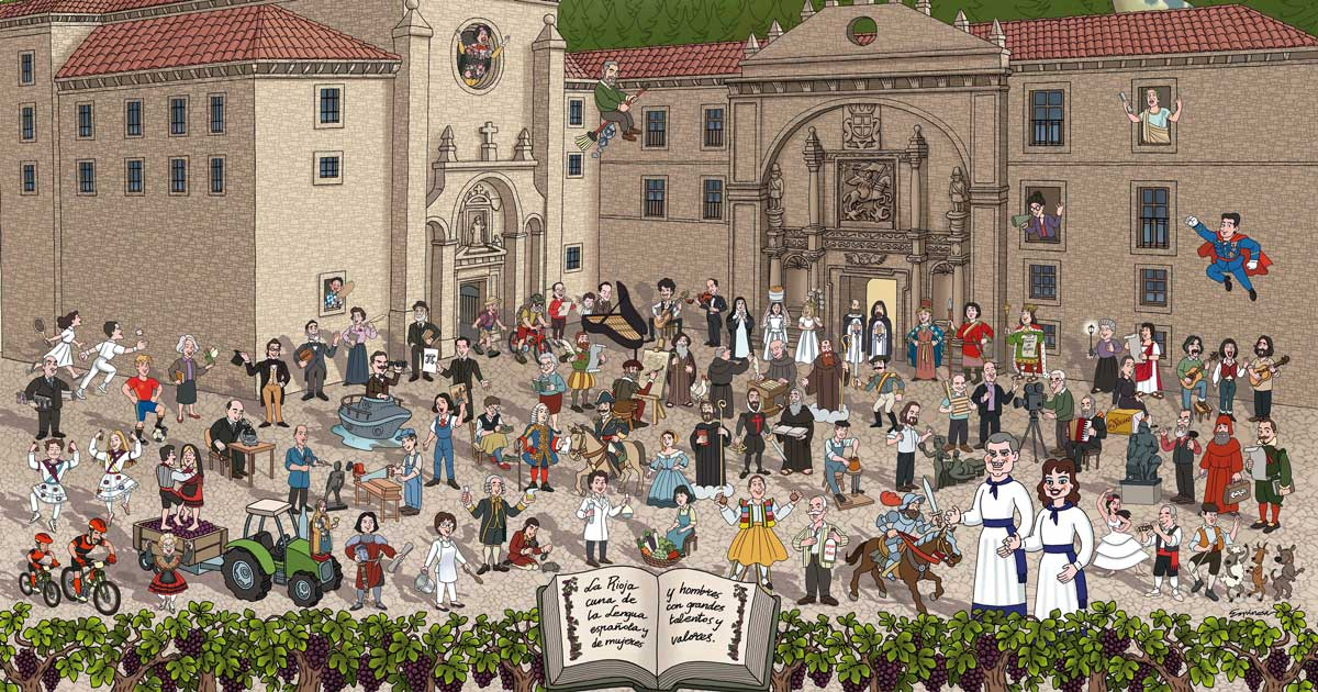 Descubriendo La Rioja, el puzle para conocer personajes ilustres de nuestra región
