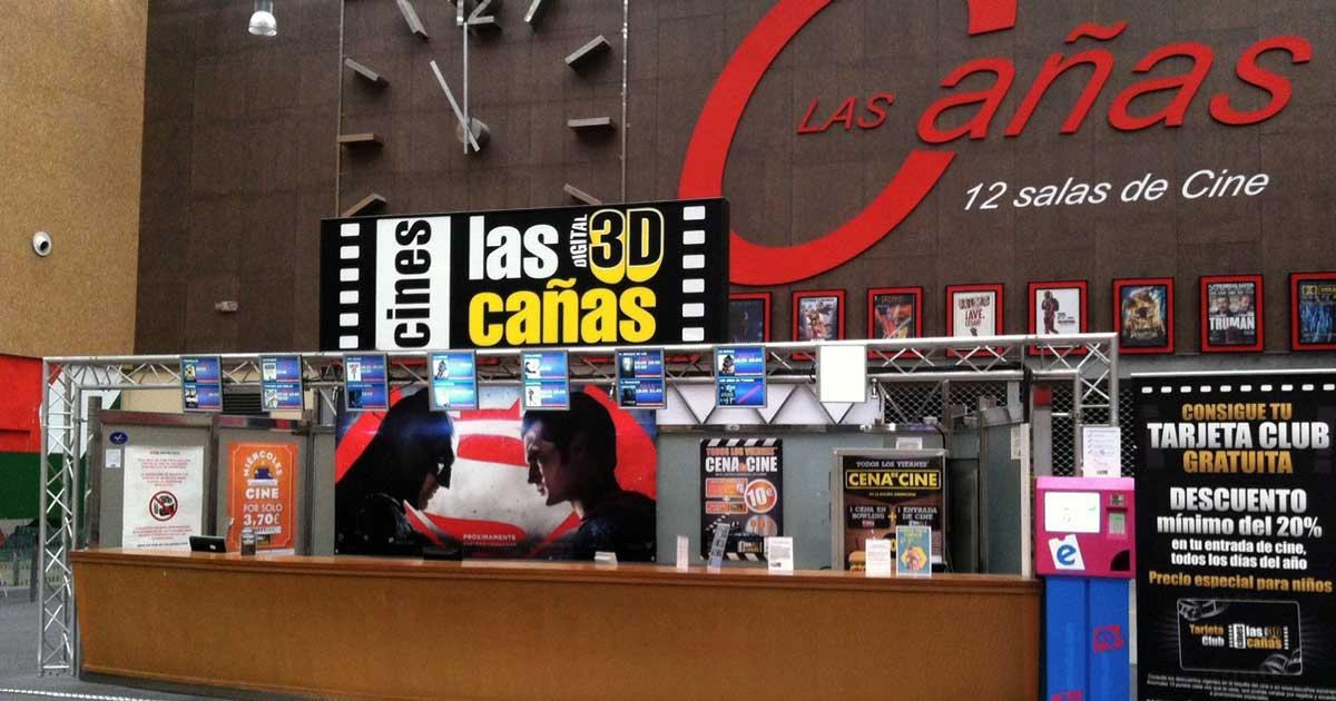 Cines Las Cañas abre sus puertas este viernes con descuentos de reapertura