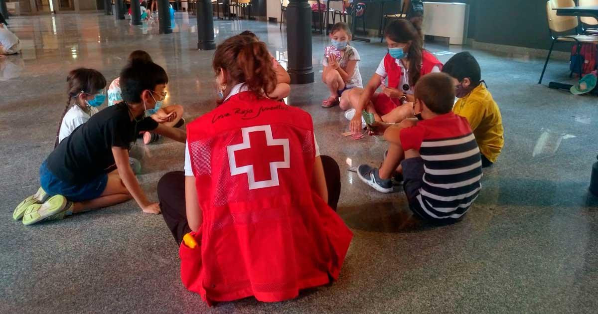 Cruz Roja Juventud oferta un campamento gratuito de tres días en Pedroso
