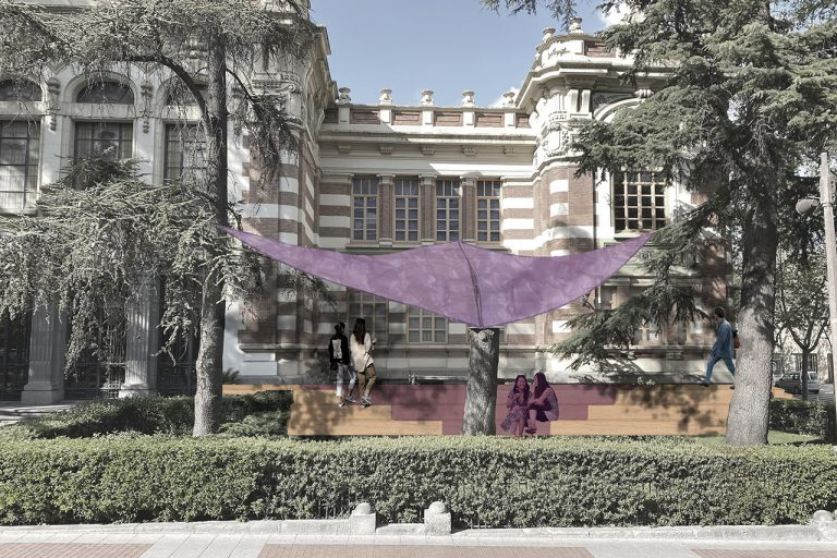 Intermedio Esdir / Nerea Illana + Guillermo Botella Jardines Esdir