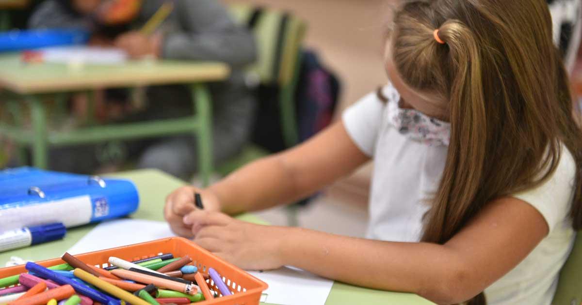 Septiembre se cierra con 56 positivos por COVID en los centros educativos riojanos