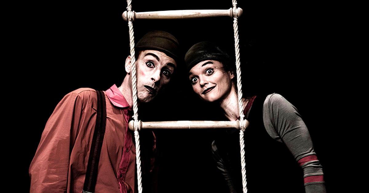 Oh! Oh! espectáculo internacional de clown y circo en El Bretón