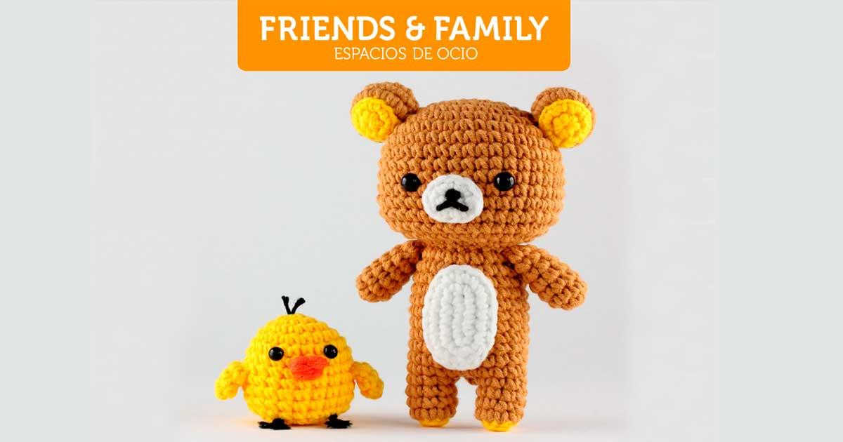 Curso de iniciación al amigurumi, en Friends & Family